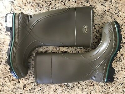 """Servus By Honeywell 75120 Rubber Boots Size 13 New Olive 14'"""" Tall Never Worn"""