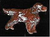 Irish Setter Pin Brooch ExClaymation No Longer Available Jewelry