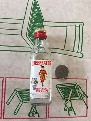 Beefeater London Distilled Dry Gin Mini Bottle