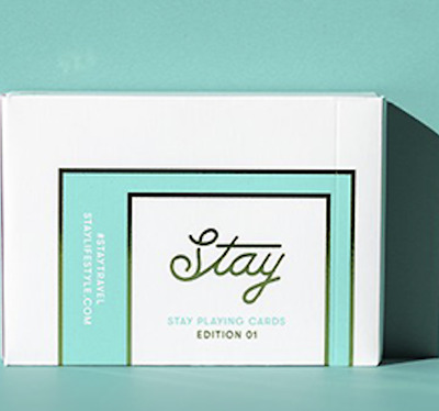 Stay Playing Cards by Patrick Kun - LIMITED