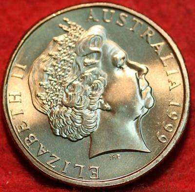 Uncirculated 1999 Australia $1 The Last Anzacs Foreign Coin