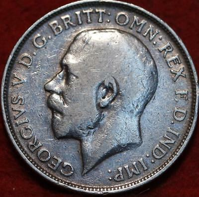 1916 Great Britain Florin Silver Foreign Coin