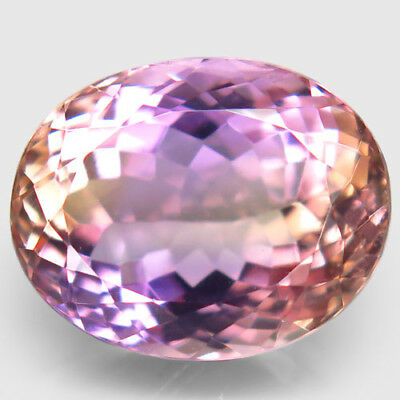14.64ct.Outstanding Gem! 100%Natural Bi Color Ametrine Unheated Bolivia AAA Nr!