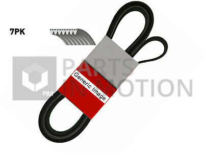 Multi V Drive Belt fits BMW 530 E34 3.0 92 to 97 Contitech 11281736986 17366999