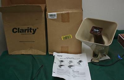 One New In Box Clarity Sx15-T Paging Horn !  Two Available     W908