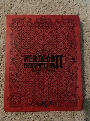Red Dead Redemption II 2  PS4/ Xbox One STEELBOOK Only