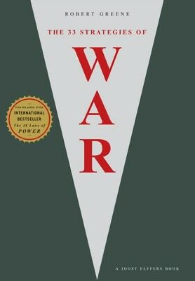 The 33 Strategies Of War (The Robert Greene Collection) (Paperback)