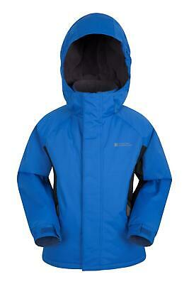 Mountain Warehouse Boys Ski Jacket with Snow proof Fabric and Fleece Lining