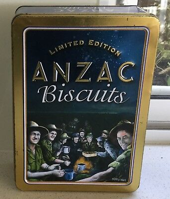 Tin - Anzac Biscuits - 2004 - Limited Edition & Paper Poem