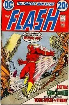 Flash (Vol 1) # 221 Fine (FN) DC Comics BRONZE AGE