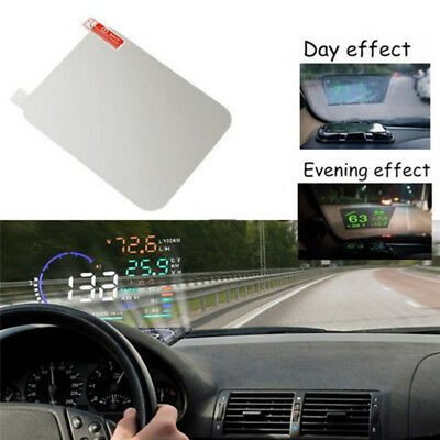 Translucent HUD Head Up Display Adsorption Film Reflective Projection Screen GN
