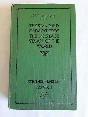 The Standard Catalogue Of The Postage Stamps Of The World (1937 Edition)