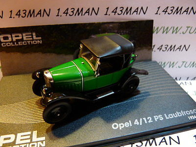 OPE48R voiture 1/43 IXO eagle moss OPEL collection : 4/12 PS Laubfrosch