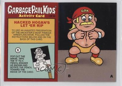 2008 Topps Garbage Pail Kids All-New Series 7 Activity Cards Hacked Hogan #1 d8k