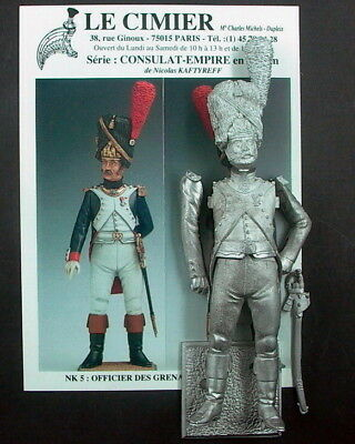 Napoleons     Grenadier Offizier    90mm Figur