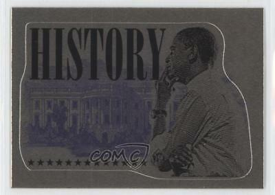 2008 Topps President Obama Collector Trading Cards Stickers Foil #14 History 0a3