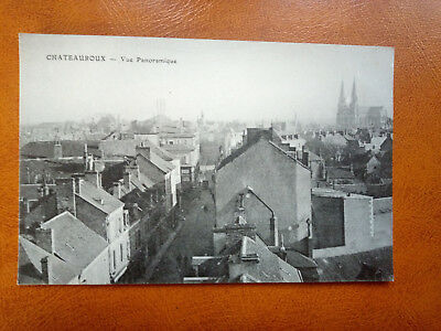 Cpa CHATEAUROUX - Vue Panoramique
