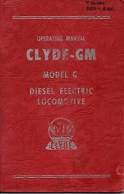 Driver Instruction Manual for Victorian T Class Locomotive. T320 - 346.