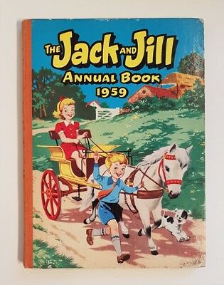 Jack and Jill Annual Book 1959