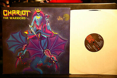 Chariot LP The Warriors 1984 Axekiller Records  französische Pressung