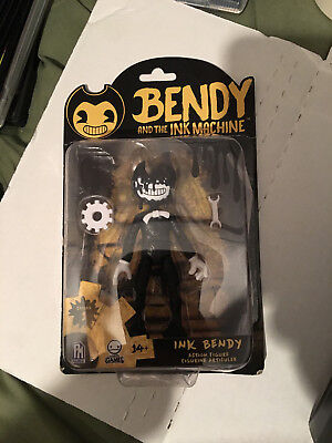 2018 Bendy and the Ink Machine Inky Bendy Action Figure Series 1 NEW
