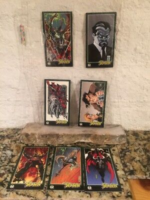 Lot of 7 Spawn Wildstrom oversized Widescreen trading cards Chase Cards 1995