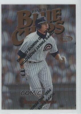 1997 Topps Finest #188 Brant Brown Chicago Cubs Baseball Card