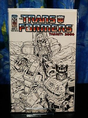 Transformers Target 2006 #4RIA (Variant Cover A), 2006