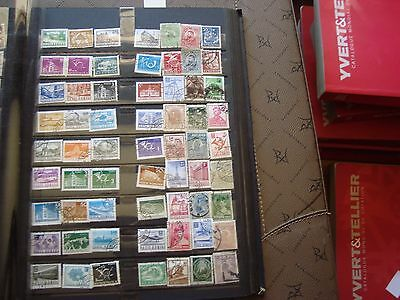 ROUMANIE - 63 stamps canceled (any state) romania stamp