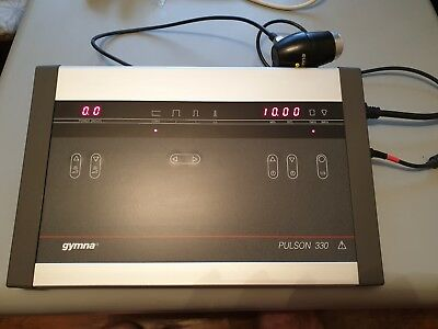 Gymna pulson 330 LASER STIMULATION ULTRASOUND TENS ELECTROTHERAPY TREATMENT