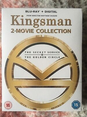 Kingsman 2-Movie Collection, Blueray