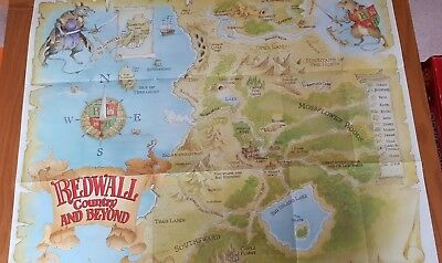 Redwall Country and Beyond Map