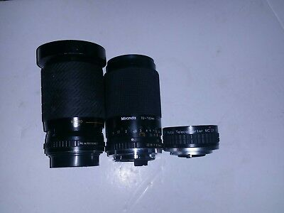 35mm lenses Bundle as pictures all ok