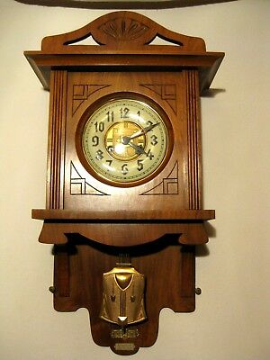VERY NICE ANTIQUE  - JUNGHANS - ART DECO  FREE SWINGER at 1910-1925