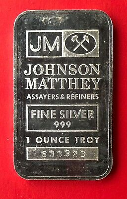 Johnson Matthey 1oz .999 Fine Silver Bar - Sooter Studios - 2nd Style - Toned