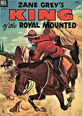 King of the Royal Mounted (Dell) #10 1953 Good