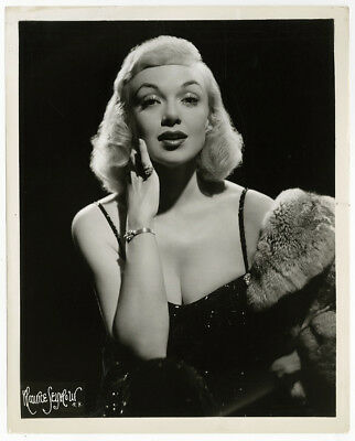 Blonde Broadway Bombshell Edith Adams Vintage Maurice Seymour Glamour Photograph
