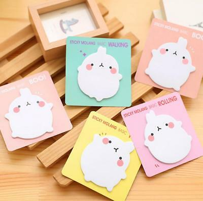 1pcs Super rabbit Sticker Bookmark Sticky Notes Point Marker Memo Post Tab TD15
