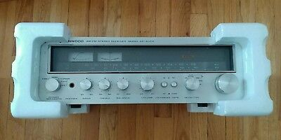 Kenwood KR-4070 AM-FM Stereo Tuner Amplifier Vintage 1978 Excellent Condition