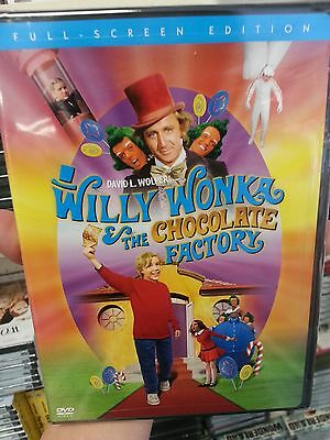 Willy Wonka and the Chocolate Factory (FULL SCREEN) New