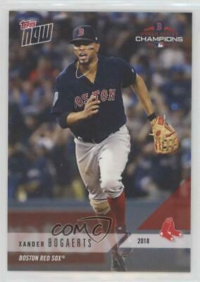 2018 Topps Now Boston Red Sox World Series Champions /2213 Xander Bogaerts #WS-6