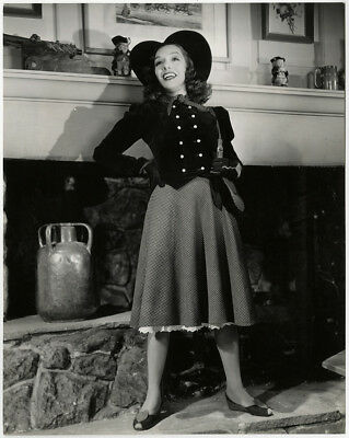 Mexican Spitfire Lupe Vélez 1940 Valentine's Day Heart Themed Fashion Photograph