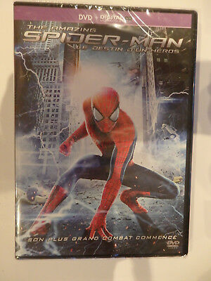 Dvd The Amazing Spiderman Neuf Sous Blister