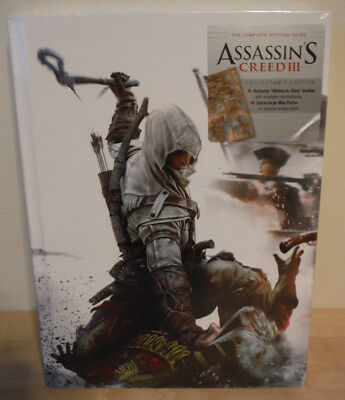 Assassins Creed 3 Collectors Edition Hardback Game Guide Factory Sealed