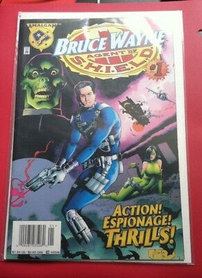 April 1996 Bruce Wayne Agent of S.H.I.E.L.D. Vol. #1 No. #1 Marvel Comics
