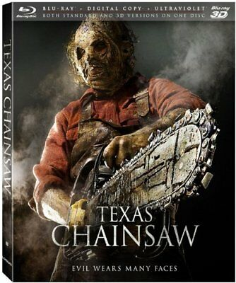 Texas Chainsaw [3d Blu-Ray+Blu-Ray+Numérique Copie + Ultraviolet] Neuf Free Ship