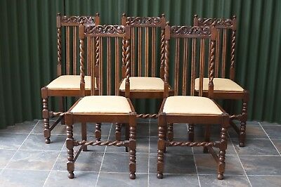Chairs Antiques Set 6 Edwardian Antique Solid Carved Mahogany Upholstered Dining Kitchen Chairs Quality First
