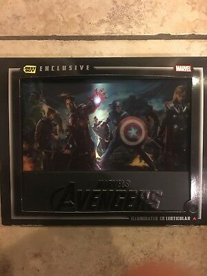 Marvel's The Avengers Illuminated 3D BLU Lenticular Case (Best Buy Exclusive)