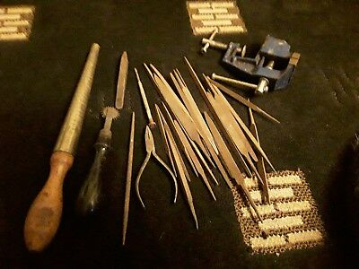vintage jewellery Making Tools White House Planishing Hammer And Others.