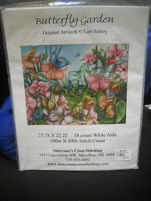 Shinysun's Cross Stitching Chart - Butterfly Garden